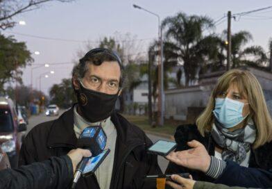 Armstrong: Nueva iluminación Led en calle Paraguay